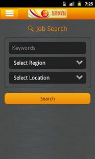Aplicatia de job CarieraNoua pentru Android